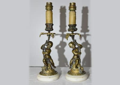 Baby candlesticks