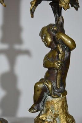 sculpture du bébé