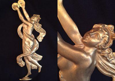 Draped dancer