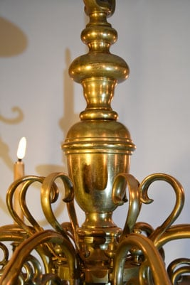 Lustre Hollandais en bronze