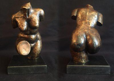 Statuette femme nue