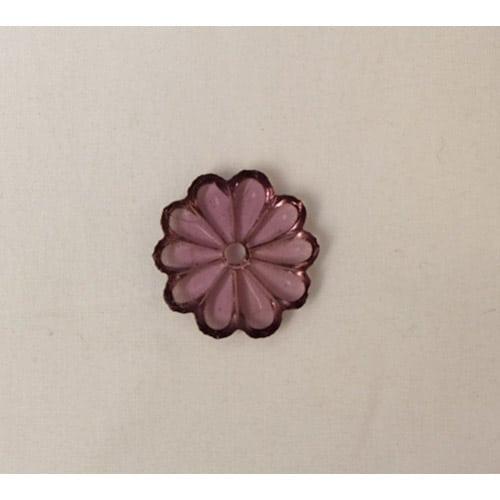 fleur rose pour lustre