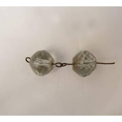 deux perles pour lustre